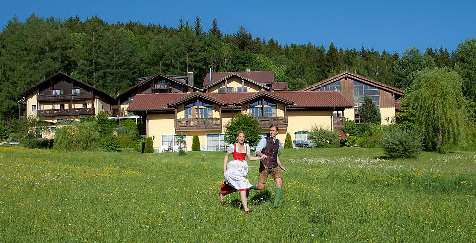 4-Sterne Wellnesshotel Riedlberg in Drachselsried Bayerischer Wald